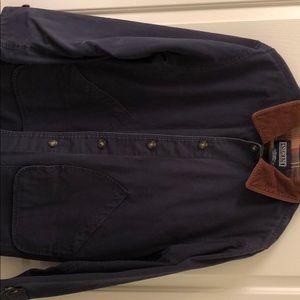Navy blue field jacket